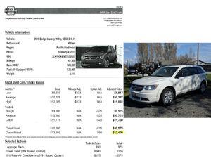 2016 Dodge Journey Utility 4D SE 2.4L
