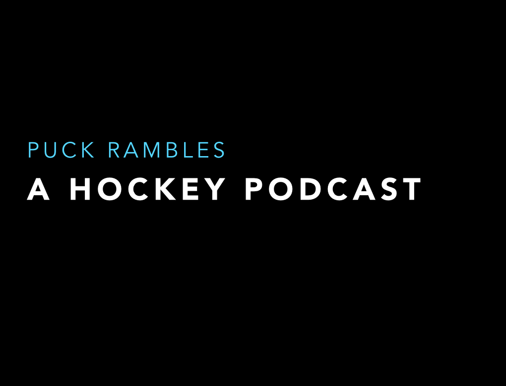 Episode 42 – Hockey Puck Rambles Hockey Podcast on Hockey