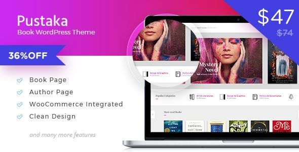 [Image: Pustaka-WooCommerce-Theme-For-Book-Store_vrlaiw]