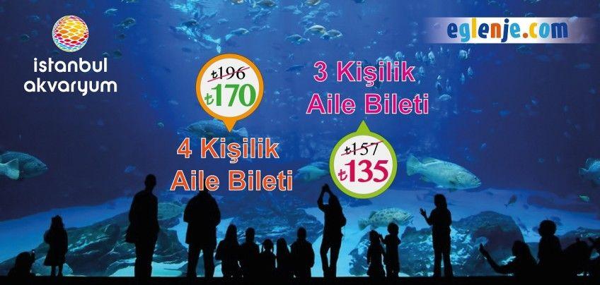 İstanbul Akvaryum Aile Biletleri