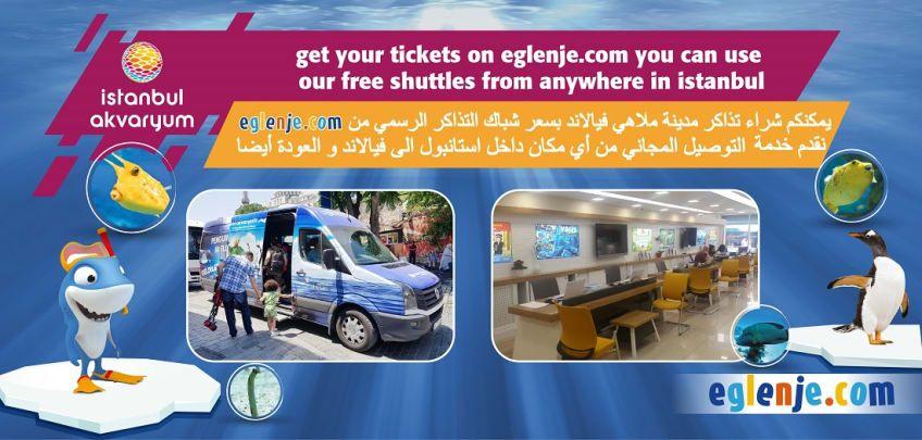 Istanbul Aquarium Free Shuttle