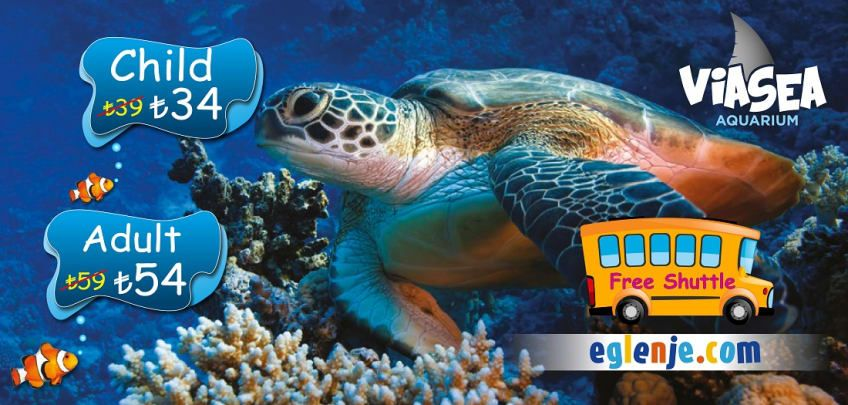 ViaSea Aquarium Ticket Prices