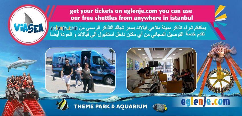 ViaSea Theme Park Free Shuttle