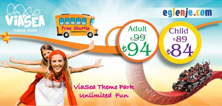 ViaSea Theme Park Tickets