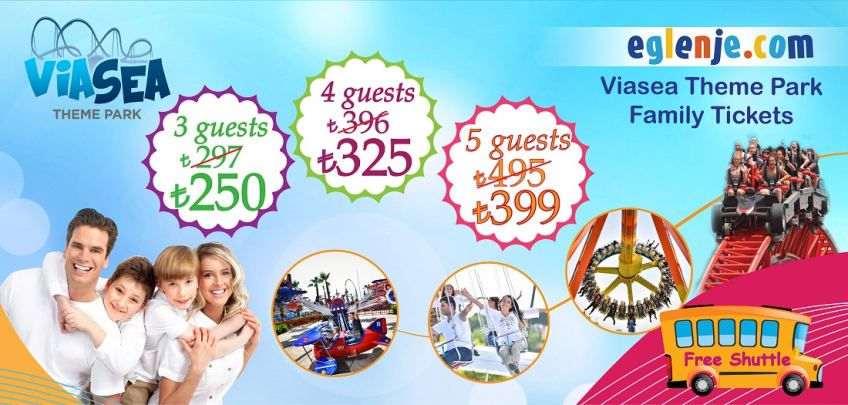 ViaSea Theme Park Family And Group Tickets