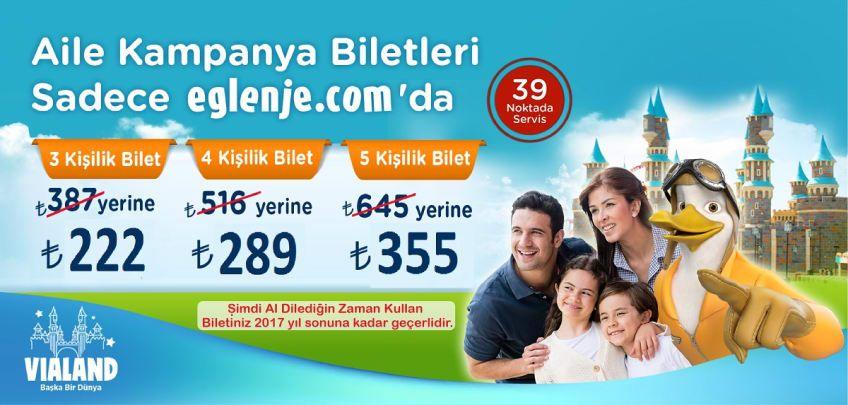 Vialand Aile Biletleri