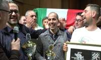 Iwan fox speaks to the Challenge Section Winners - Italian Brass Band