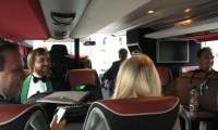 Following Manger: On the bus....