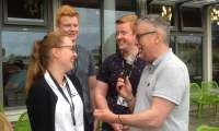 Interview with a trio of Norwegians