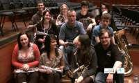 4BR meets the UKs European Youth Band players