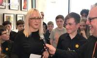 Interview with Elementary Section winners Gwynedd a Mon Junior Band
