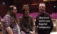 EBBC 2012: Two hopeful composers