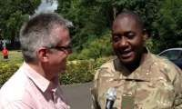 Interview with Major Ian Johnson