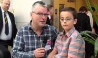 British Open 2013 - Interview with  David King and his family