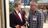 British Open 2013 - Interview with Calum Tonner