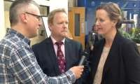 British Open 2013 - Interview with Russell and Mareika Gray