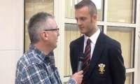British Open 2013 - Interview with Tom Hutchinson