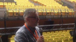 Interview with Tom Davoren in Palanga