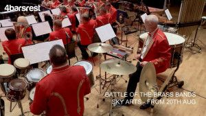 Behind the scenes at Battle of the Brass Bands