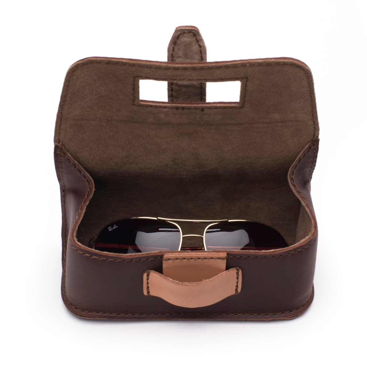 Hard Sunglass Case - Chestnut