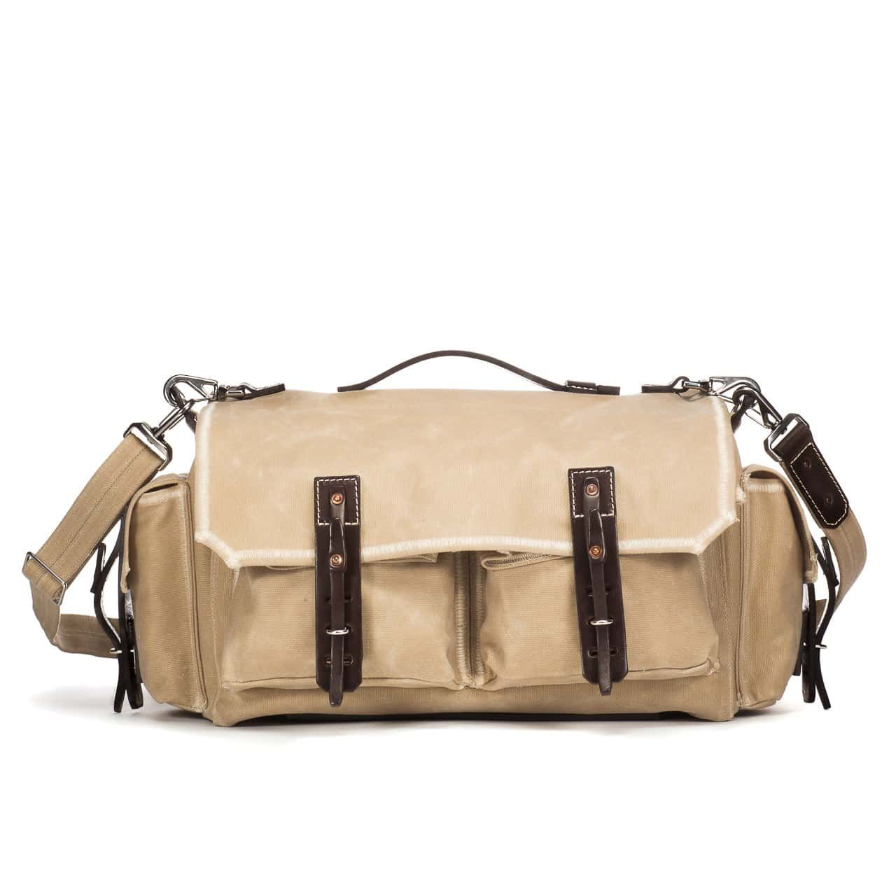 5 Pocket Duffel in Color Sand Front