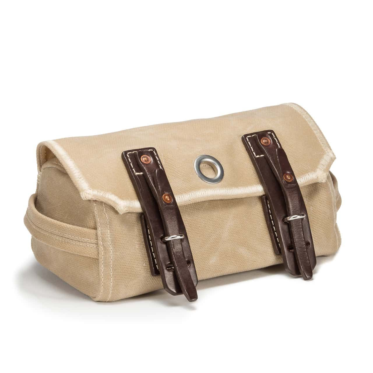 Dopp Kit in Color Sand Front Angle