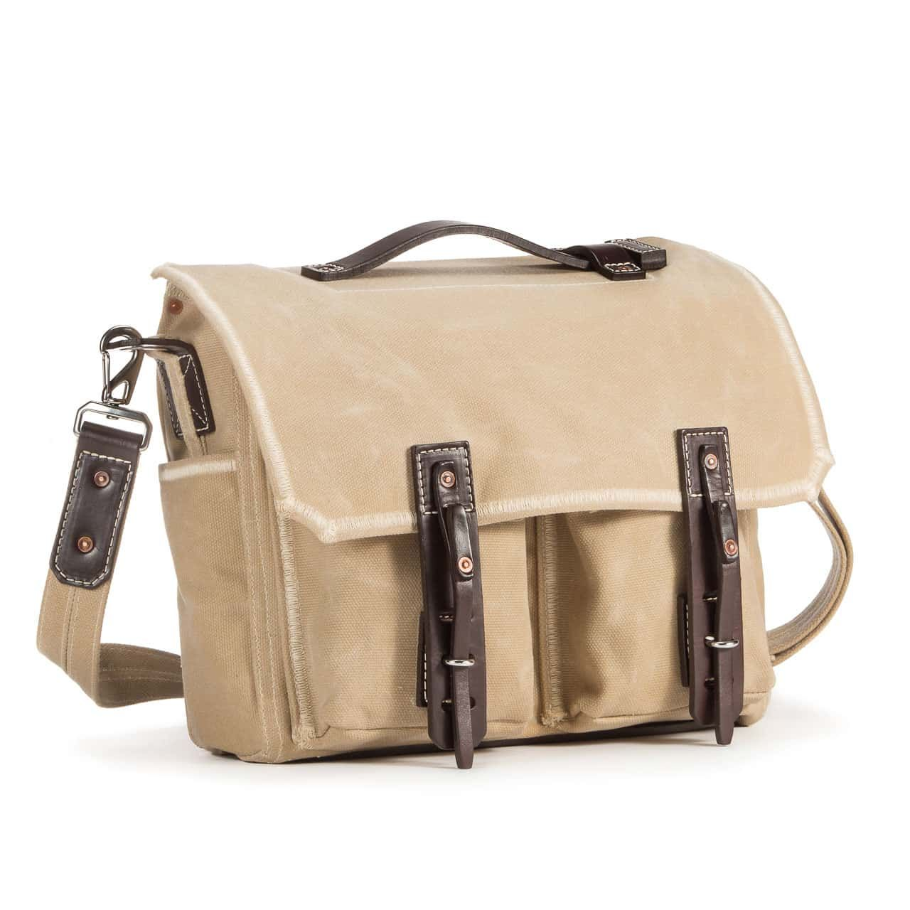 Front Pocket Gear Bag in Color Sand Front Angle