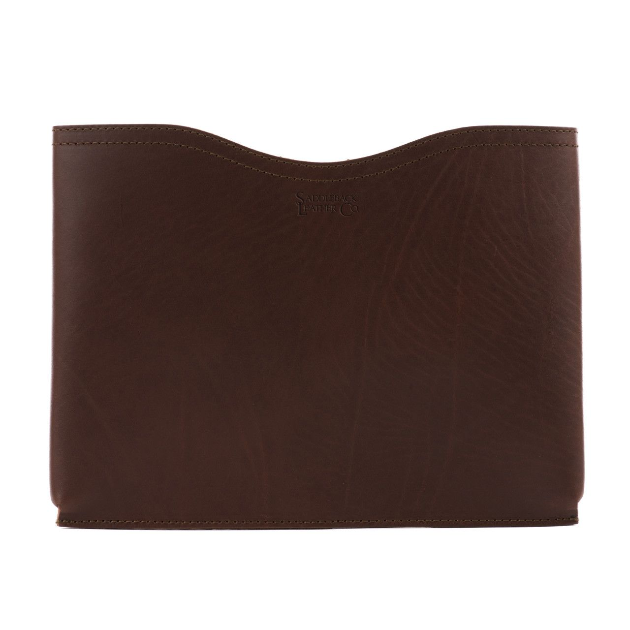 macbook pro leather sleeve medium in chestnut leather