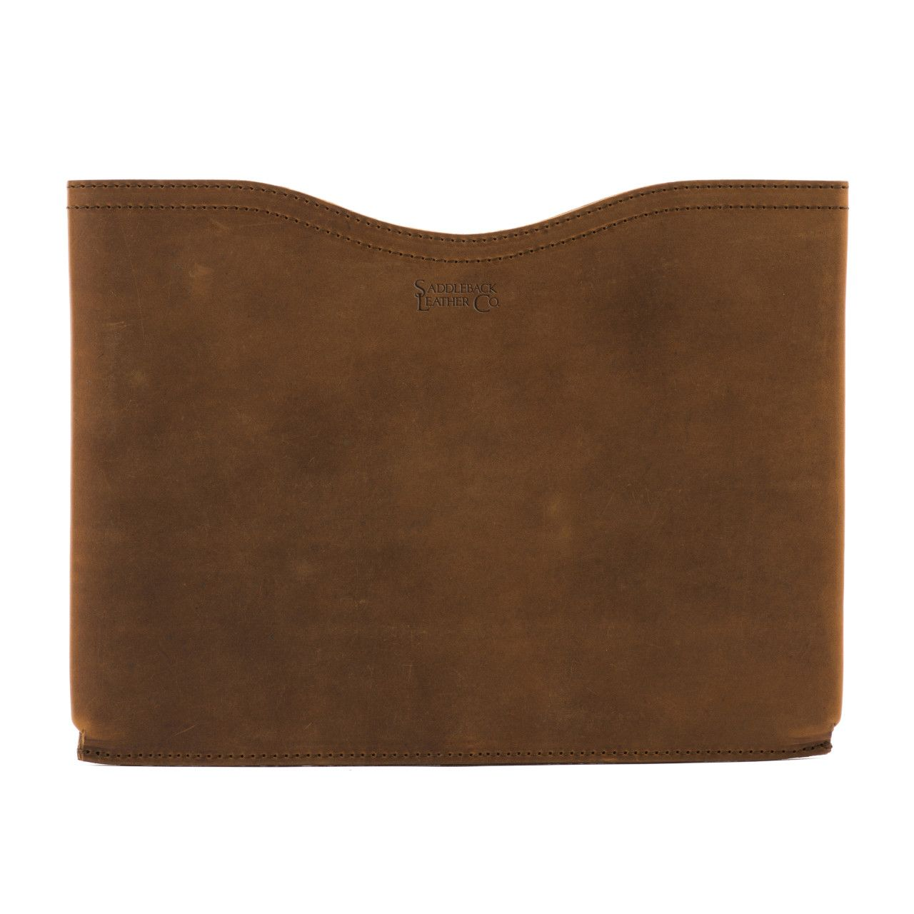 macbook pro leather sleeve medium in tobacco leather