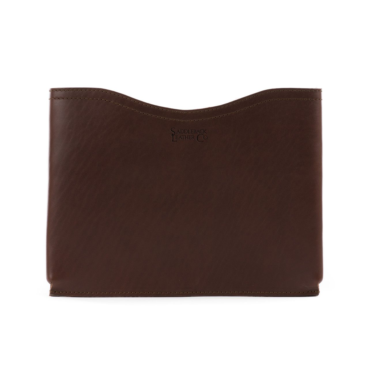 macbook pro leather sleeve small in chestnut leather