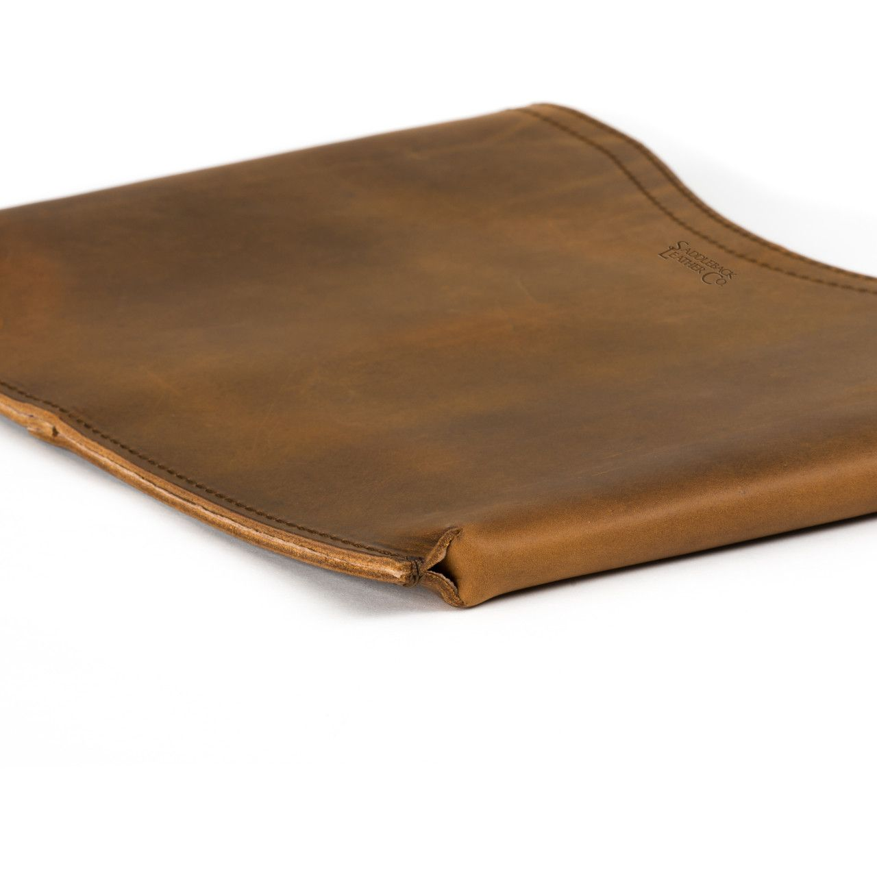 macbook pro leather sleeve small in tobacco leather