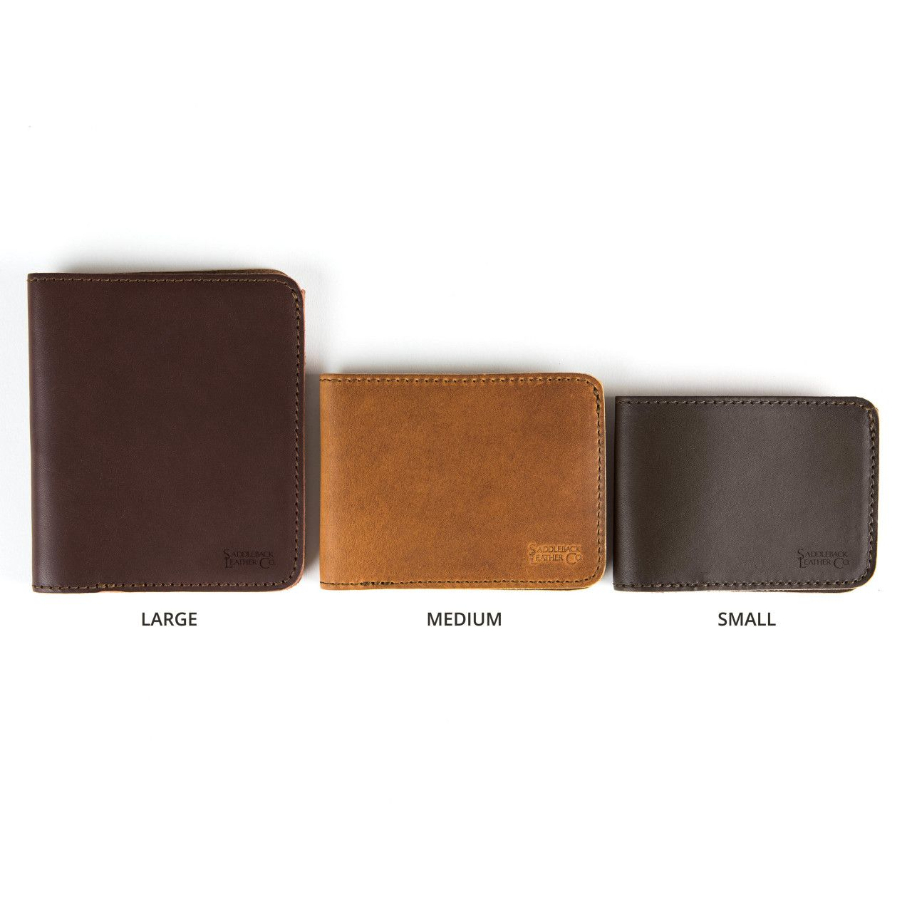 large leather bifold wallet large in leather