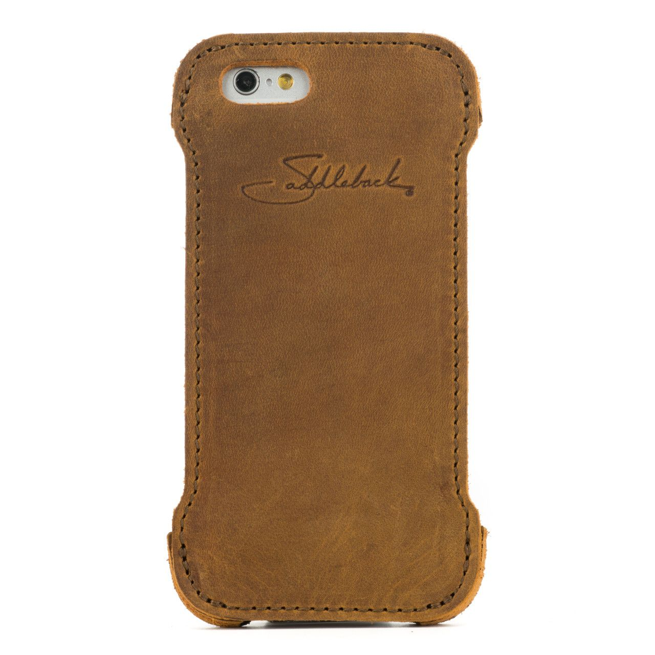 iphone 6 leather case small in tobacco leather