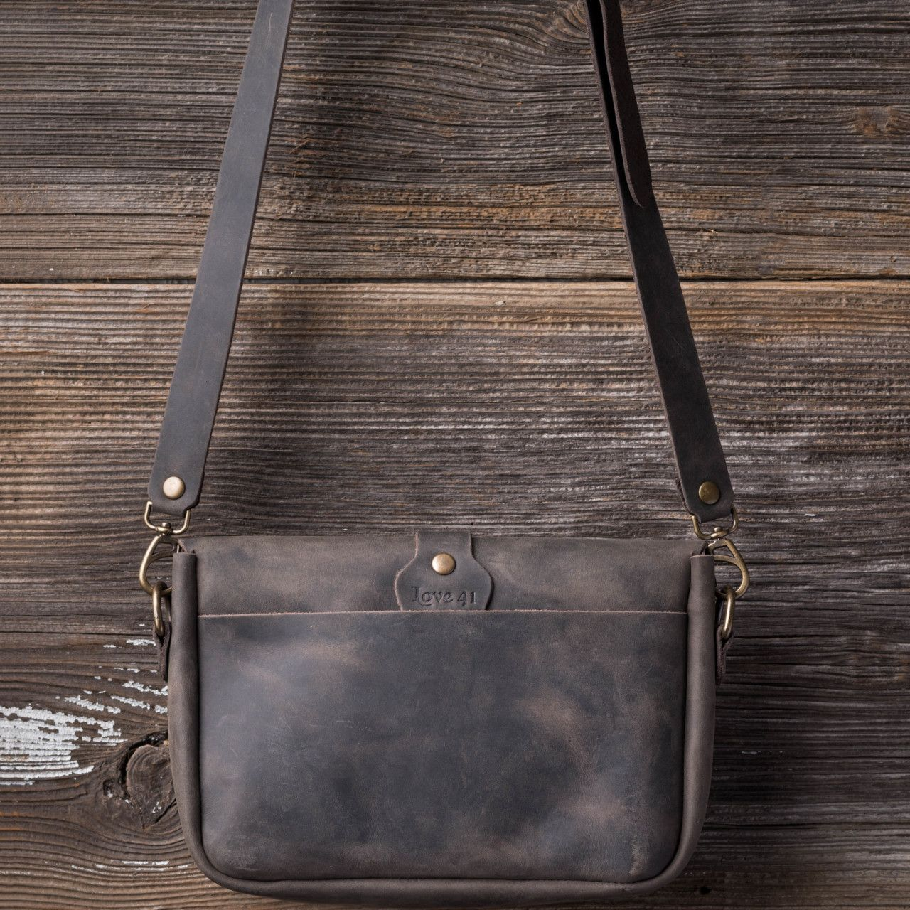 Crossbody Koroha in black