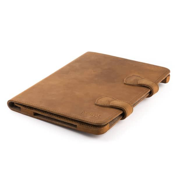 Leather Sunglass Case/Pen Case - Tobacco (25% Discount)