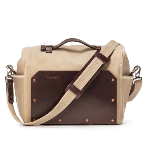 Small Overnight Duffel in Color Sand Back