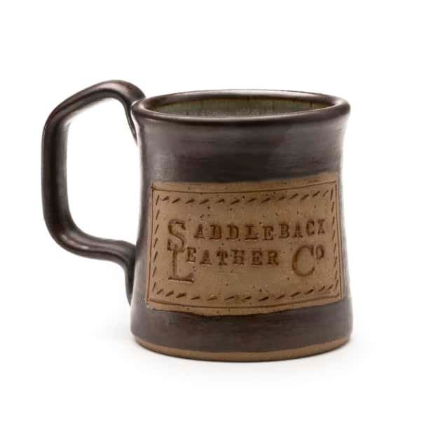 Special Edition Saddleback Logo Handcrafted Coffee Mug