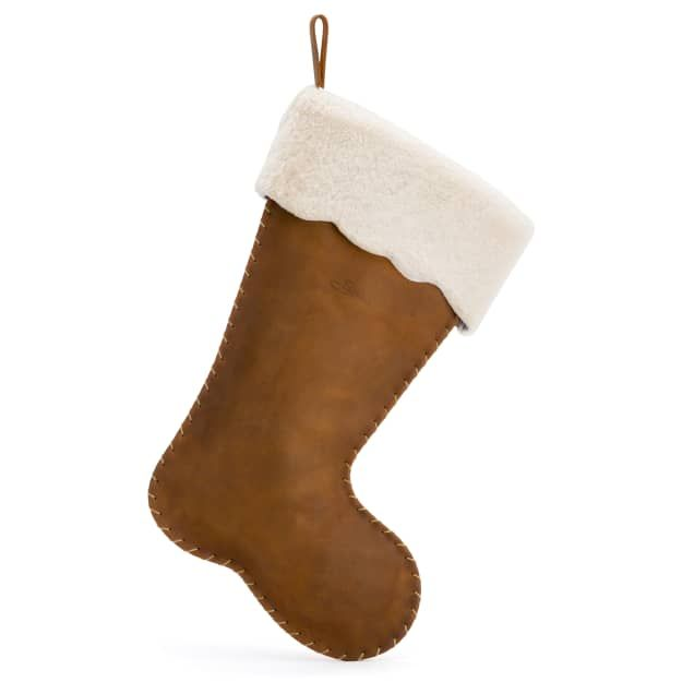 Christmas Stocking in tobacco