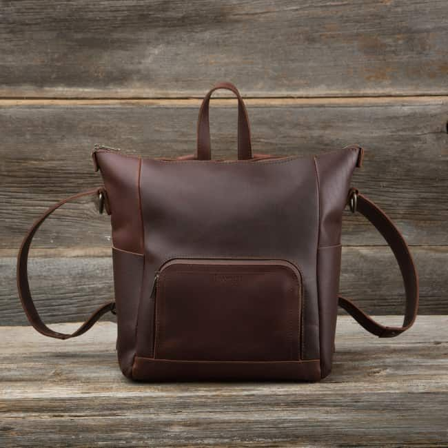 Universal Backpack in chestnut