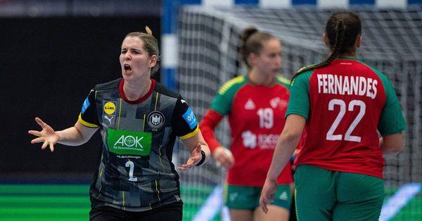 Klarer Sieg gegen Portugal: Deutsche Handballerinnen sichern sich ihr WM-Ticket