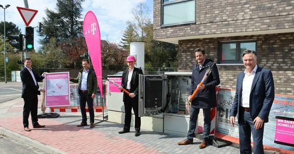 Bauarbeiten in Meerbusch: Glasfaser-Ausbau in Büderich startet