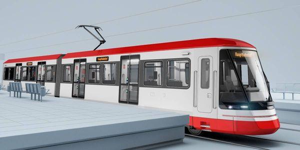 Wie die neuen Fahrzeuge für die Linie U 79 aussehen: Siemens baut neue Bahnen für die DVG