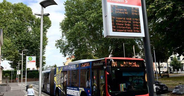 Hilden: Stadt Hilden baut Bushaltestellen barrierefrei um