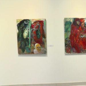 Slike Ilije Paunovića u galeriji Mostovi Balkana