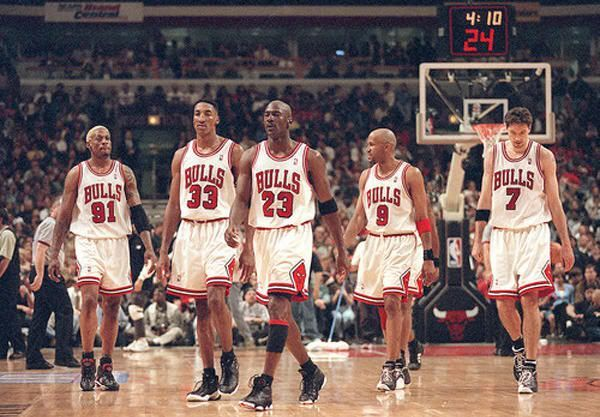 72勝的芝加哥公牛(一):成員