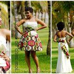 Mariage Elegant Robe De Mariee En Pagne Africaine
