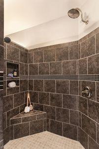 Small Shower Ideas No Door Amazing Bedroom Living Room