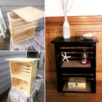 Pin By Ann Michelle On Bedrooms Diy Furniture Crate