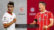 歐聯八強:拜仁強陣出征 西維爾缺中場核心