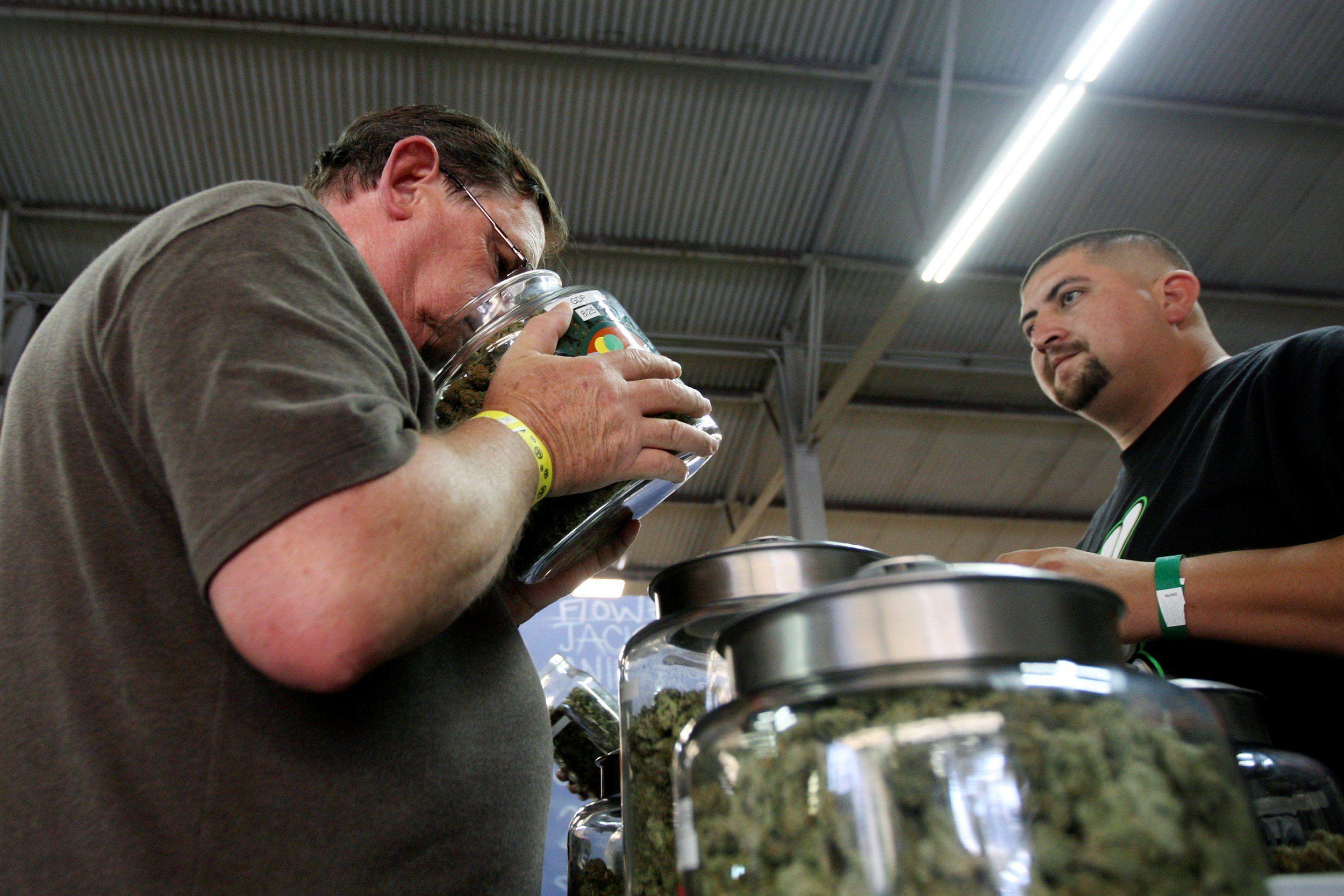 A marijuana tech company says data shows increased access to pot decreases alcohol use